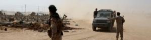 اشتباكات مسلحة في بئر فضل بسبب السطو على الأراضي وقوات الأمن تسيطر على الوضع