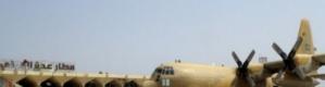 وصول دفعة من المجندين الى عدن على متن طائرة عسكرية سعودية