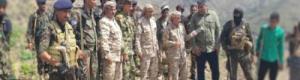 هيثم يزور محور الضالع العسكري ويطلع على احتياجاته
