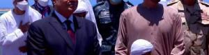الشيخ محمد بن زايد والسيسي يشهدان افتتاح أحدث قاعدة عسكرية في مصر