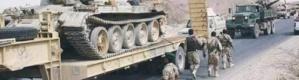 القوات المسلحة الجنوبية تعزز جبهات أبين بأسلحة ثقيلة