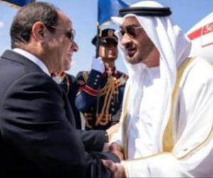 محمد بن زايد والسيسي يبحثان مستجدات القضايا الإقليمية والدولية