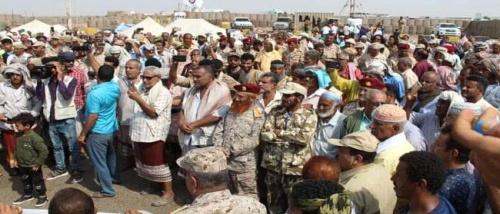 هيئة الجيش والأمن الجنوبي تتهم الحكومة بتعمد تجاهل مطالب منتسبيها وتدعو للاحتشاد امام مقر التحالف بعدن الأحد القادم