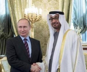محمد بن زايد وبوتن يبحثان تعزيز الشراكة الاستراتيجية