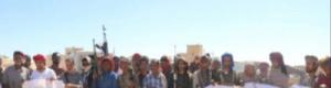 مليشيا الإخوان تفض بالرصاص اعتصام رضوم السلمي